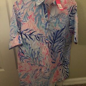 Lilly Pulitzer XL swim cover up